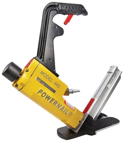 Power Nail Flooring Stapler 155GA Pneumatic 445FS