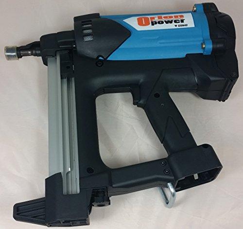 OrionPower OGG-40A30 Gas-Powered Cordless Concrete Nailer  Nail Gun Short Magazine