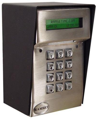 Ramset Keypad LCD KP Keyless Entry System Gate Openers Digital Keypad Operator
