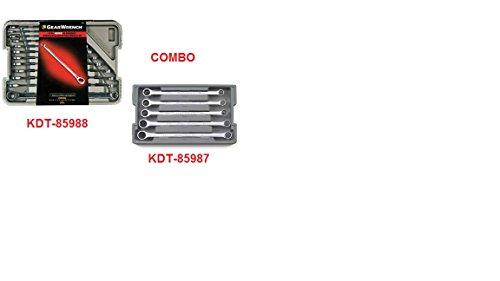 KDT-85988TS - KDT85988-12 pc XL GearBoxª Double Box Ratcheting Wrench Set - Metric wKDT-85987-5 pc XL GearBoxª Double Box Ratcheting Wrench Add-On Set Metric