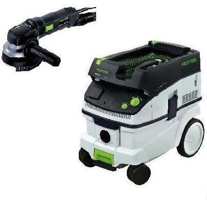 P26570789 Festool RAS 1154 E Rotary Sander CT 26 E Dust Extractor
