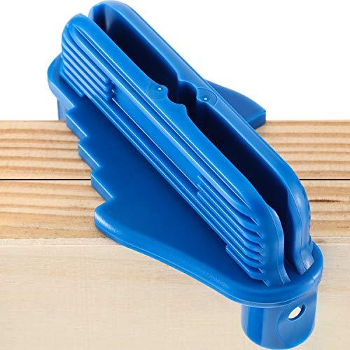 Center Scriber Line Scriber Woodworking Marking Offset Marking Tool Marking Center Finder Tool Wood Scribe Marking Gauge Fits Standard Wooden Pencils 1 Blue