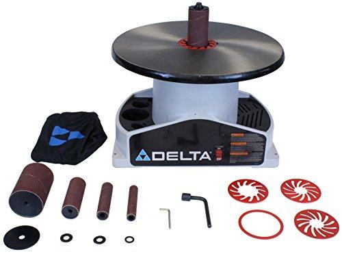 DELTA SA350K Shopmaster Boss 14-Horsepower 1724 RPM Bench top Spindle Sander with Complete Spindle Sander Set