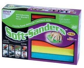 Style Line 6 Piece 11 Soft-Sanders Set STY0703 Category Sand Paper by Style Line