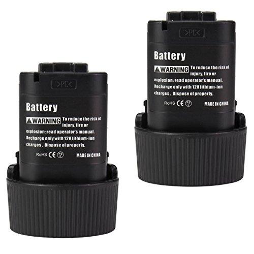 2-PACKS 108V 15Ah Replace Makita Battery BL1013 BL1014 TD090D TD090DWX cordless drill Lithium-ion Battery GERIT BATT