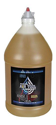 Premium Air Tool Lubricant - 128 FL OZ 1 Gallon Industrial Pneumatic Tool Oil