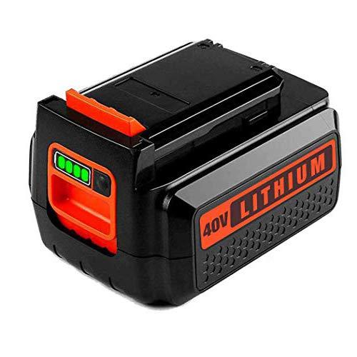 LBXR36 25 Lithium Battery for Black Decker 40V Max Battery for B&D LBX36 LBX2040 TC220 LHT2436 LSW36 LST136 LCC140 Series Cordless Power Tool for Black and Decker 40V 36V Batteries1 Pack