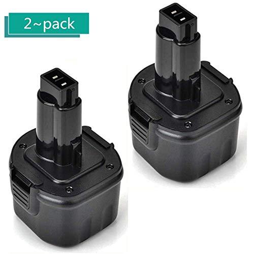 Upgraded 3600mAh Replacement for Dewalt 96V Battery DW9061 DW9062 DE9036 DE9062 DW9614 Cordless Power Tool 2 Pack
