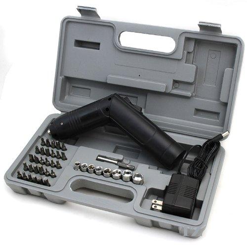 XtremepowerUS 36-Volt Foldable Cordless Rechargeable Screwdriver Screw Gun Kit