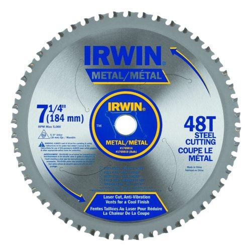 IRWIN Tools Metal-Cutting Circular Saw Blade 7 14-inch 48T 4935555