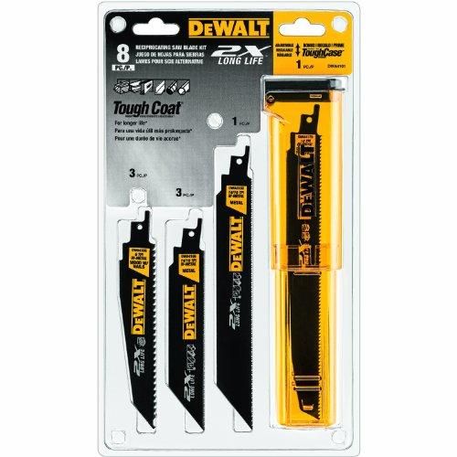 DEWALT Reciprocating Saw Blades Bi-Metal 8-Piece DWA4101