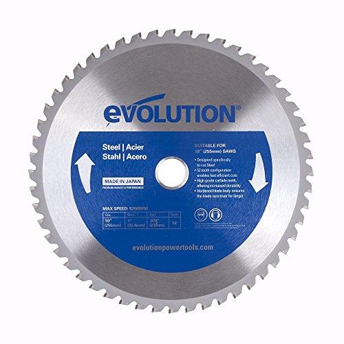 Evolution Power Tools 10BLADEST Steel Cutting Saw Blade 10-Inch x 52-Tooth