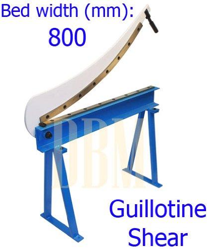 Guillotine Shear 32 x 16 Gauge Sheet Metal Fabrication Plate Cutting Cutter
