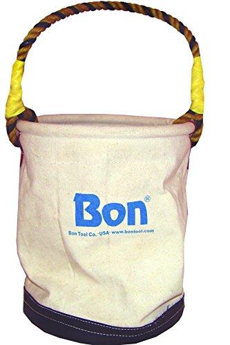Bon 41-102 Economy Canvas Tool Bucket with Leather Bottom