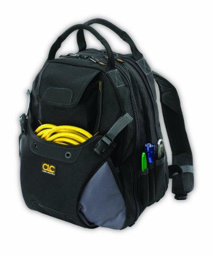 Custom Leathercraft 1134 Tool Backpack 48-Pocket