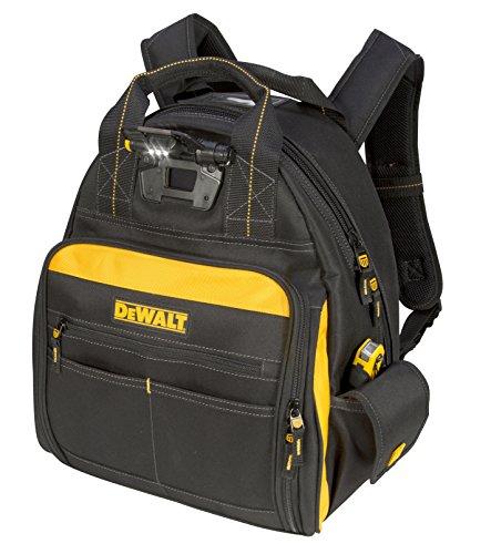 DEWALT DGL523 Lighted Tool Backpack Bag 57-Pockets