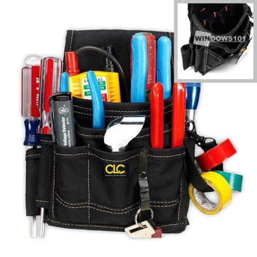 CLC Custom Leathercraft 1503 - 9 Pocket Professional Electrician Tool Belt Pouch