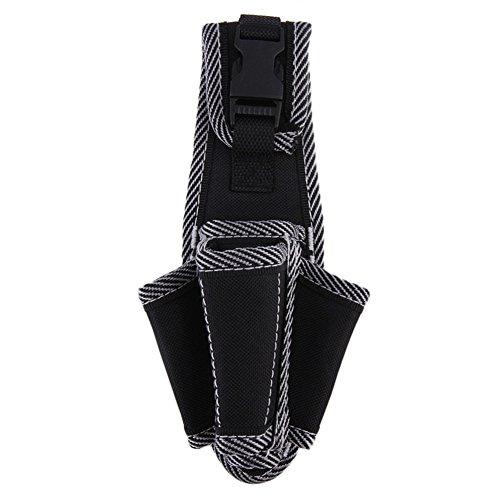 Zeroyoyo Multi-functional Purse Electrician Waist Pocket Tool Belt Pouch Case Screwdriver Nail Tool Bag4-Pocket