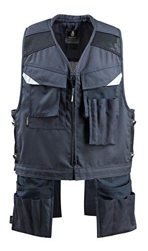Mascot 15089-154-010-2XL Baza Tool vest XX-Large Black-Blue