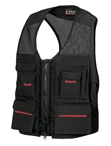 Tool vest with multi-function pockets LXL