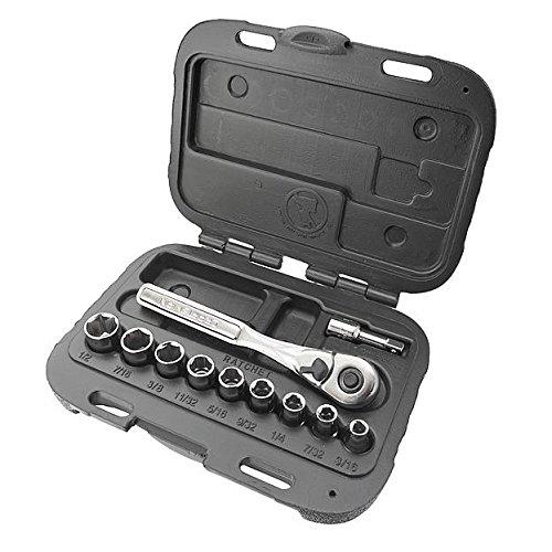 Craftsman 11 pc 6 pt Standard 14 inSocket Wrench Set 9-34860