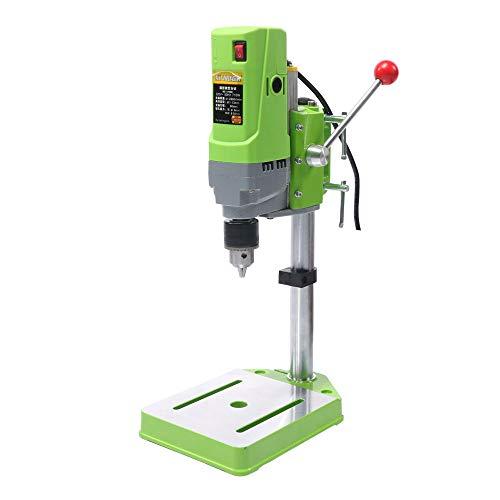 QWERTOUY Mini Drilling Machine Drill Press Bench Small Electric Drill Machine Work Bench Gear Drive 220V 710W