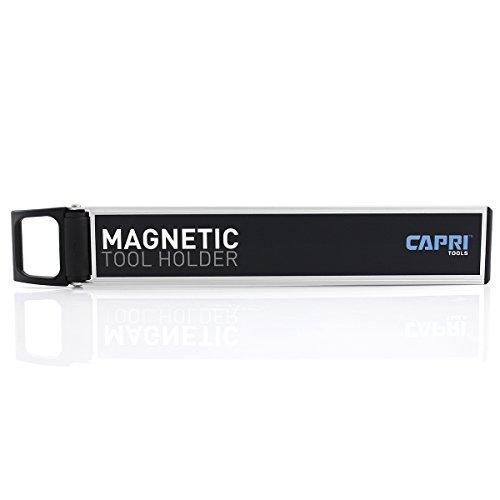 Capri Tools CP40117 Capri Tools 10-in Magnetic Tool Holder with Swivel Handle Black