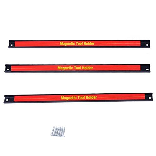 Goplus3 PCS 18 Magnetic Tool Holder Bar Organizer Storage Rack Knife Wrench Pilers