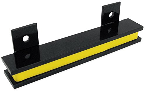 Master Magnetics AM5PLC Magnetic Tool Holder 6 Wide 20 lb per inch Black Powder Coat with Yellow Stripe
