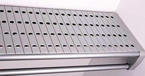 EZ Shelf - Shelf Top for Closet and Garage Shelves - Silver
