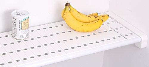 EZ Shelf - Shelf Top for Closet and Garage Shelves - White