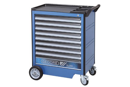 Gedore Tool trolley with 9 drawers