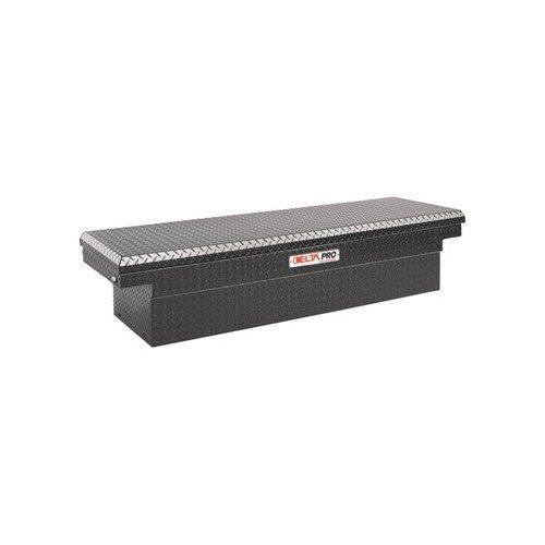 Delta Pro PAC1590002 Aluminum Single Lid Stepside Crossover Truck Box Black