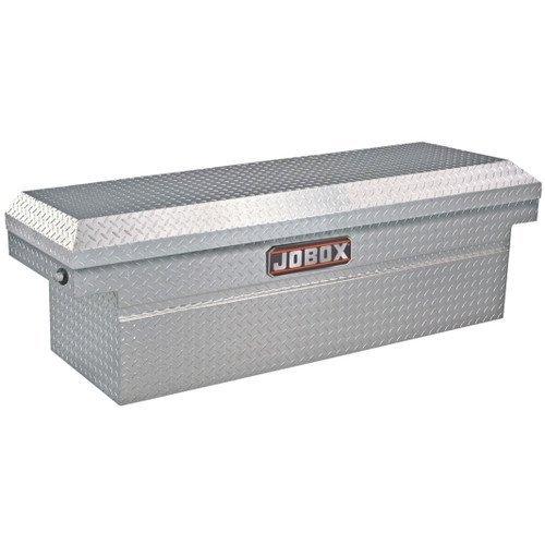 JOBOX JAC1389983 Aluminum Single Lid Deep Extra-Wide Full-size Crossover Truck Box Aluminum