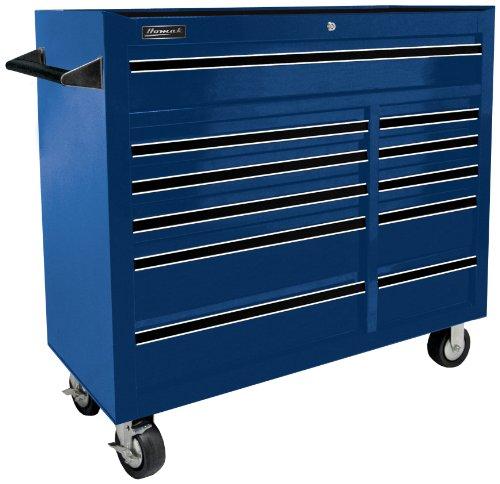 Homak   BL04011410 41-Inch Pro Series 11 Drawer Rolling Cabinet Blue