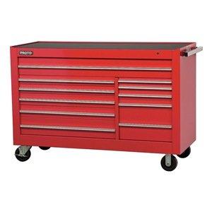 Proto - J456646-11RD - Red Rolling Cabinet Series 450 Heavy Duty Width 66 Depth 27 Height 46