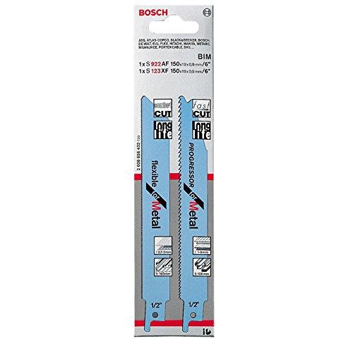 Bosch 2608656432 Saber Saw Blade-Set S123XFS922AF For Metal 2 Pcs