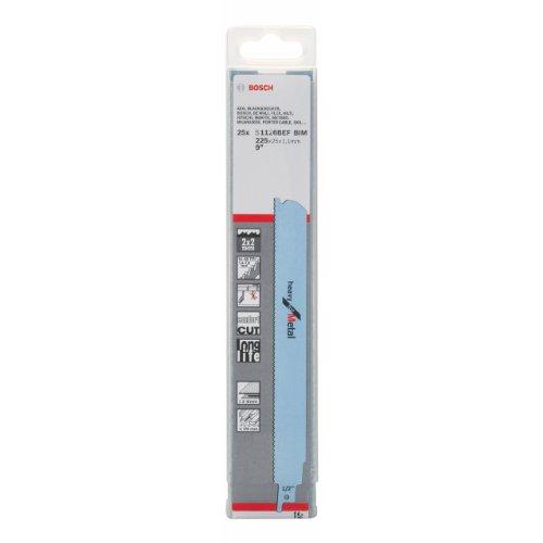 Bosch 2608657554 Saber Saw Blade1126 Bef 25 Pcs