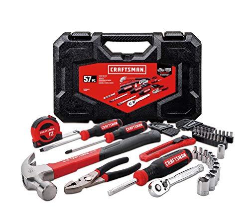 CRAFTSMAN Home Tool Kit  Mechanics Tools Kit 57-Piece CMMT99446