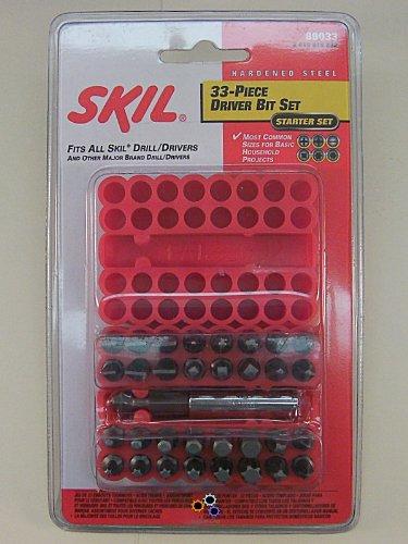 SKIL 89033 33 Piece Screwdriver Bit Set