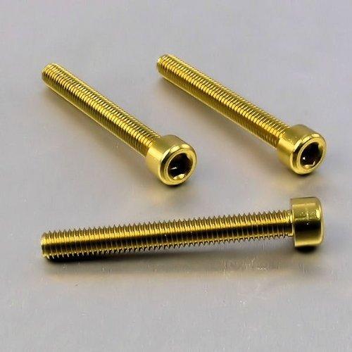 Aluminium Allen Bolt M6 x 100mm x 50mm Gold Model  Tools Hardware store