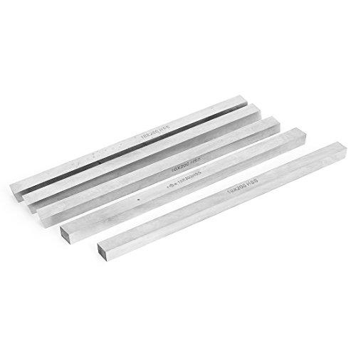 10mm x 10mm x 200mm HSS Cutter Tool Bit Lathe Milling Boring Bar 5pcs