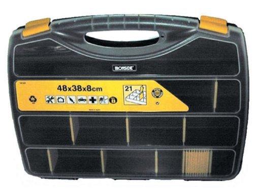 Ironside 191221 48 x 38 x 8 cm PVC Tool Box - Multi-Colour by Ironside