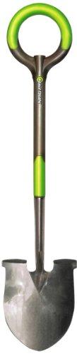 Radius Garden 202 PRO Ergonomic Stainless Steel Shovel Original Green