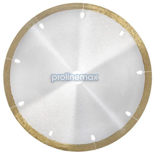 7 x 048 x 58 Wet Thin Continuous Rim Diamond Saw Blade Porcelain Ceramic