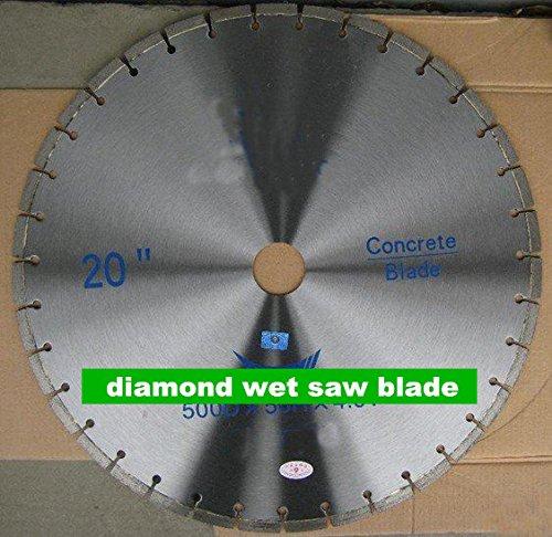 GOWE 20 diamond wet saw blade  500mm concrete saw blade  bridge cutting blade
