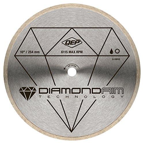 10 in Diamond Blade for Wet Tile Saws for Ceramic Tile