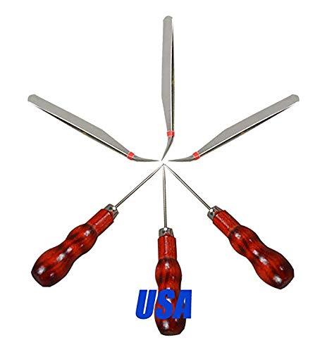 Wanky 3pcs Vinyl Weeding Tool Tweezer and 3pcs Drill for Vinyl Cutting
