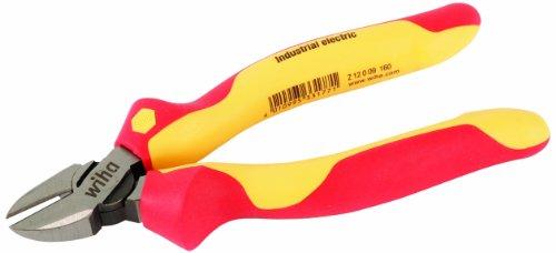 Wiha 32929 8-Inch Insulated Industrial Diagonal Cutters