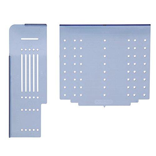 Amerock TMPMULTI Cabinet DoorDrawer Hardware Installation Template Combo Pack